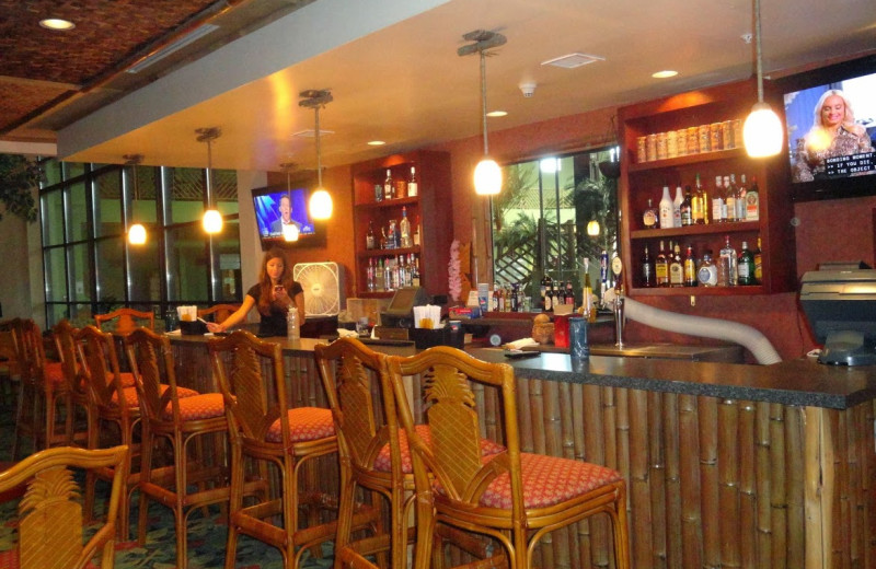 The bar at Maui Sands Resort & Indoor Waterpark.
