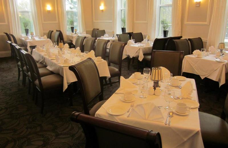 Dining at Elm Hurst Inn & Spa.