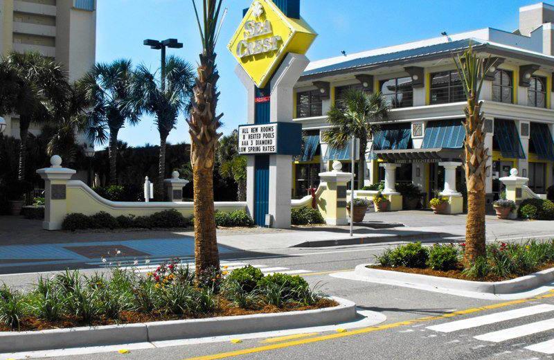 Exterior View of SeaCrest Oceanfront Resort