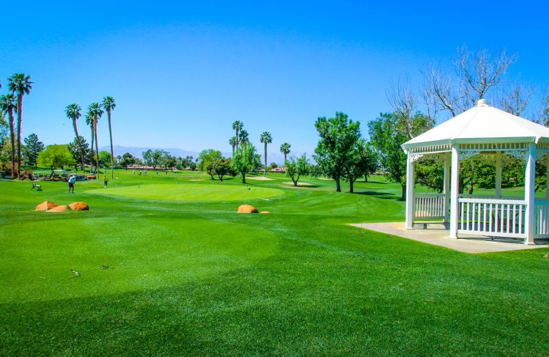 Golf course at Country Club and Resort Rentals.