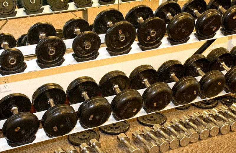 Fitness center at The Lodge at Ventana Canyon.