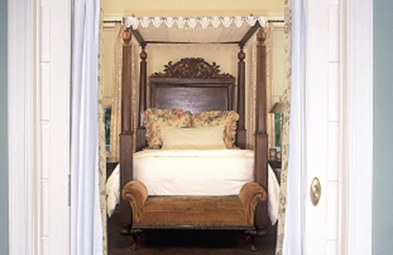 Guest room at Chaska House Bed & Breakfast.