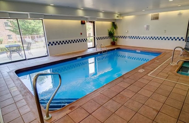 Indoor pool at Fairfield Inn Fort Leonard Wood St. Robert.
