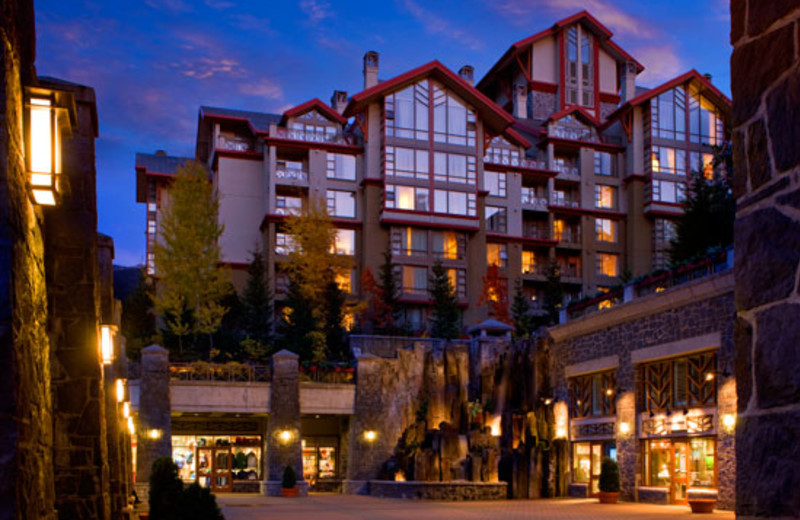 Exterior view of The Westin Resort & Spa, Whistler.