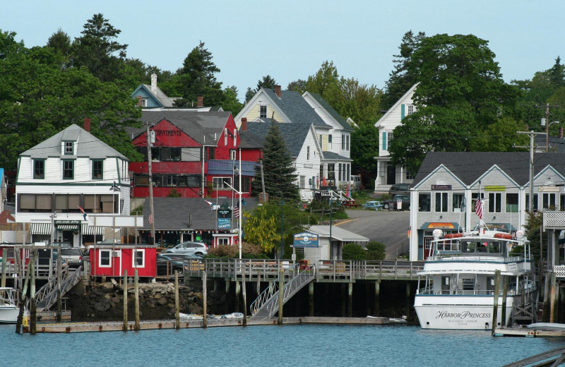 Town near Harbour Towne Inn on the Waterfront.