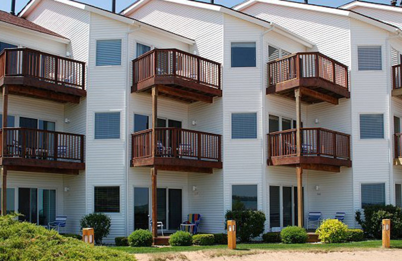Exterior view of The Beach Condominiums Hotel-Resort.