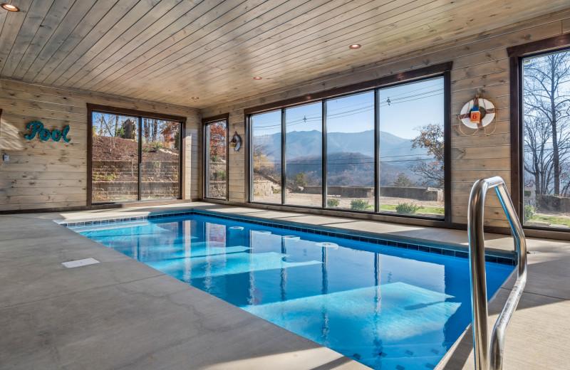Rental pool at Stony Brook Cabins LLC.