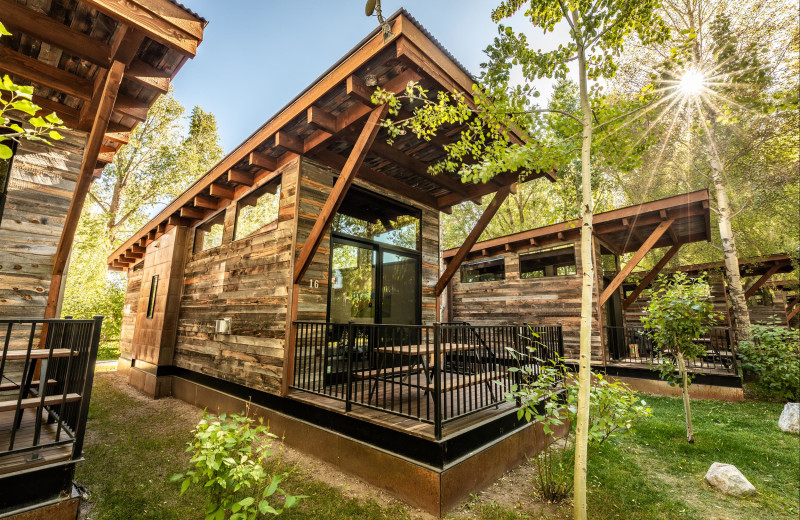 Exterior view of Fireside Resort at Jackson Hole.