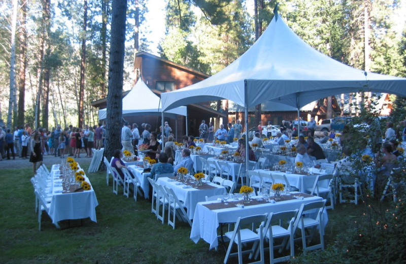 Weddings at Timberline Meadows Lodges.