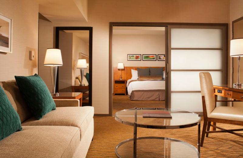 Executive suite at Omni San Diego Hotel.