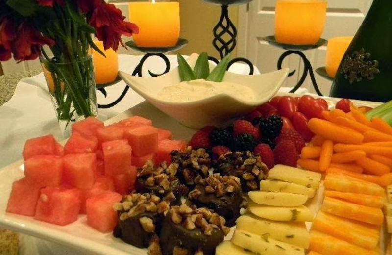 Dinning at Summer Creek Inn & Spa.