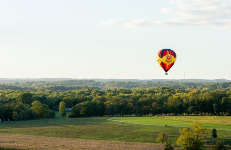 Hot air balloon at The Lodges at Gettysburg.