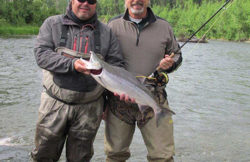 Fishing Buddies at Northwoods Lodge