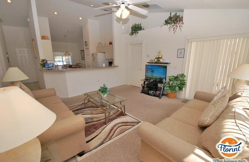Rental interior at Florint Vacations.