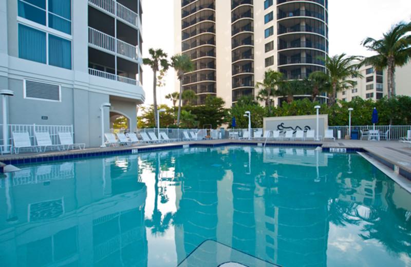 Outdoor Pool at Gullwing Beach Resort