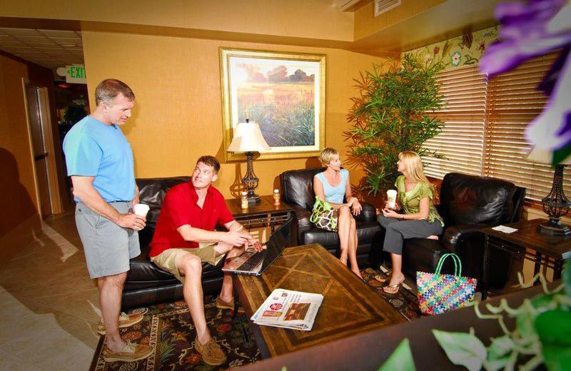 Lounge Area at SeaCrest Oceanfront Resort