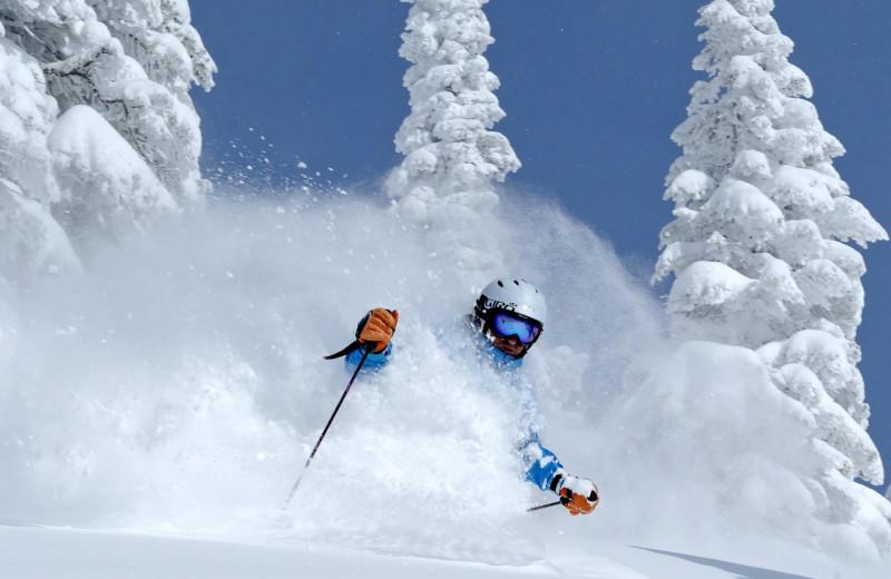 Skiing near Retreatia.com.
