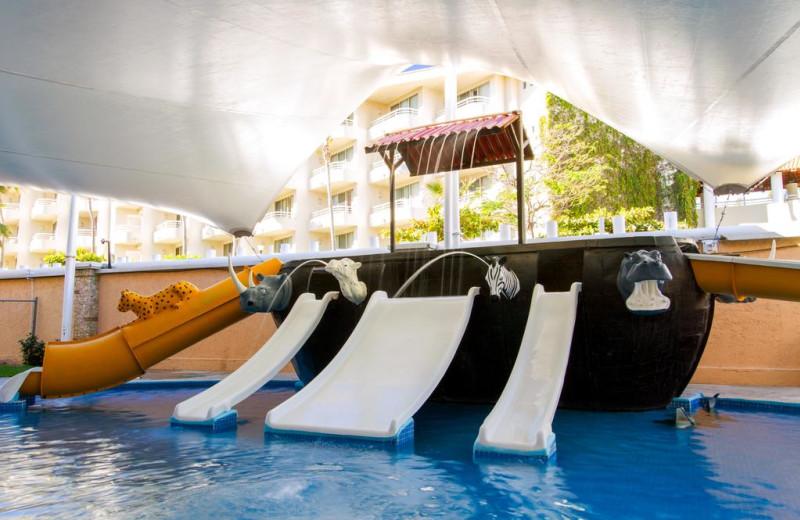 Water park at Royal Solaris - Los Cabos.