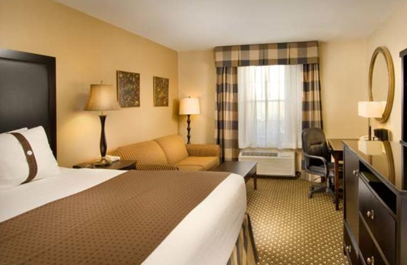 King Room at Holiday Inn Leesburg