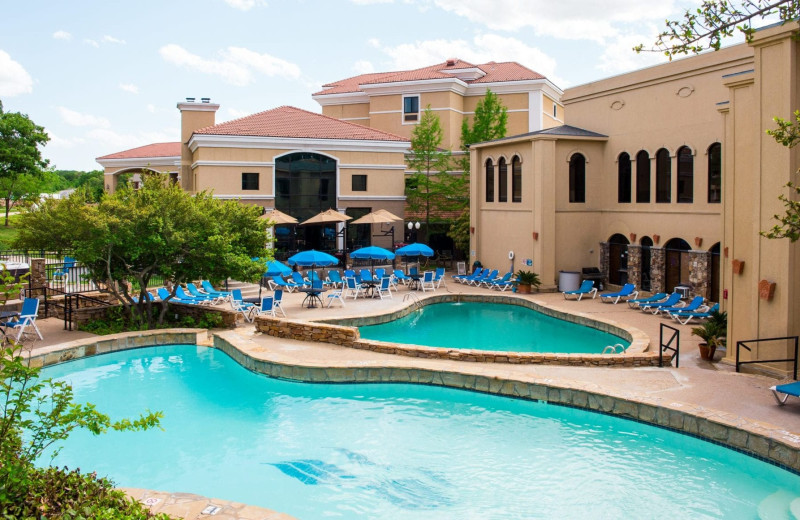 Outdoor pool at Tanglewood Resort and Conference Center.