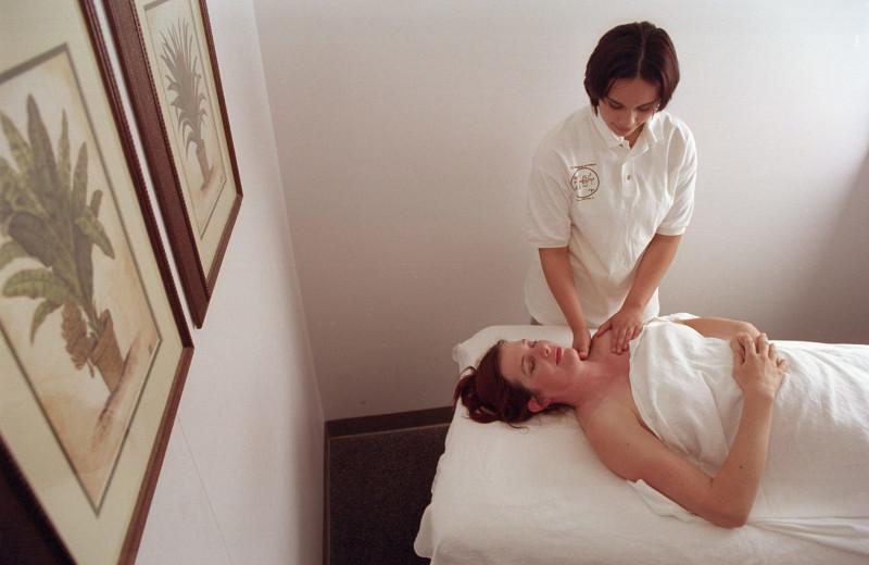 Massage at Dr. Wilkinson's Hot Springs Resort.