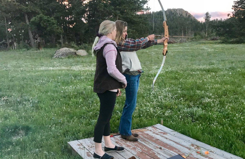Archery at Sundance Trail Guest Ranch.