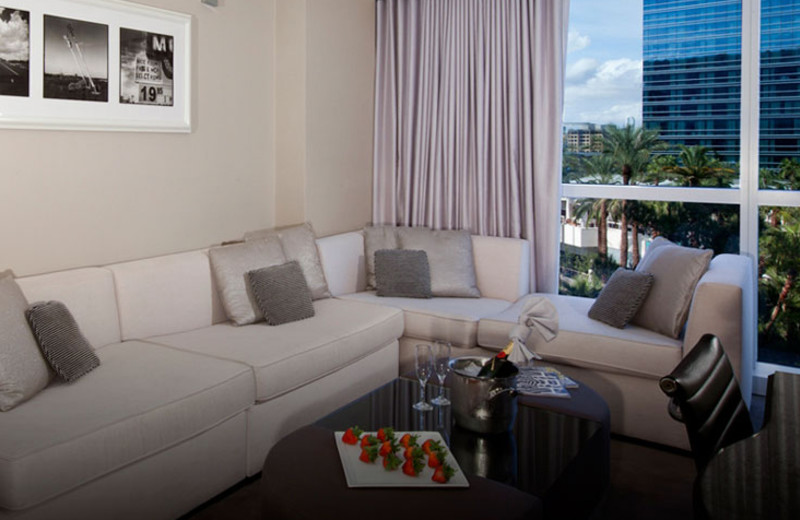 Suite Living Room at Hard Rock Hotel