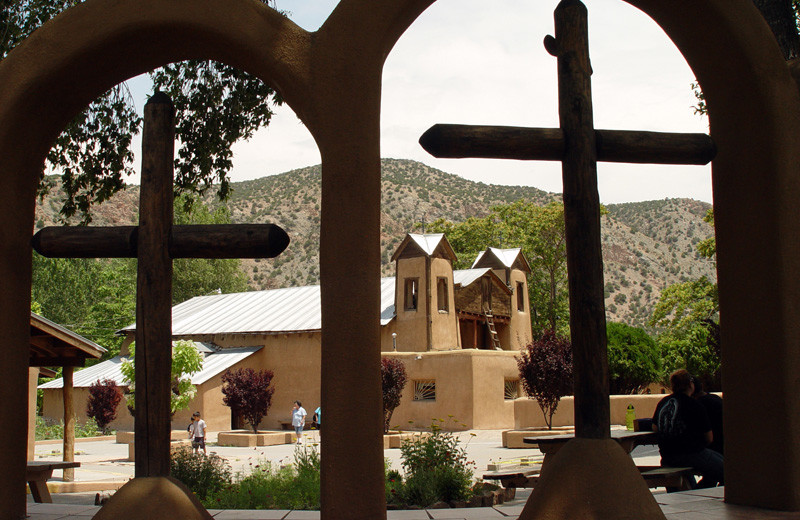 Church near Hotel Chimayo de Santa Fe.