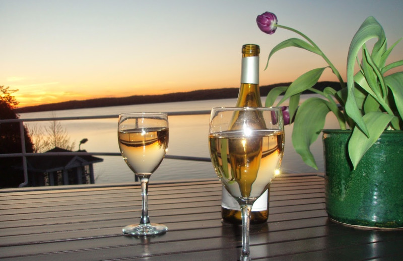 Romantic dining at The Geneva Inn.