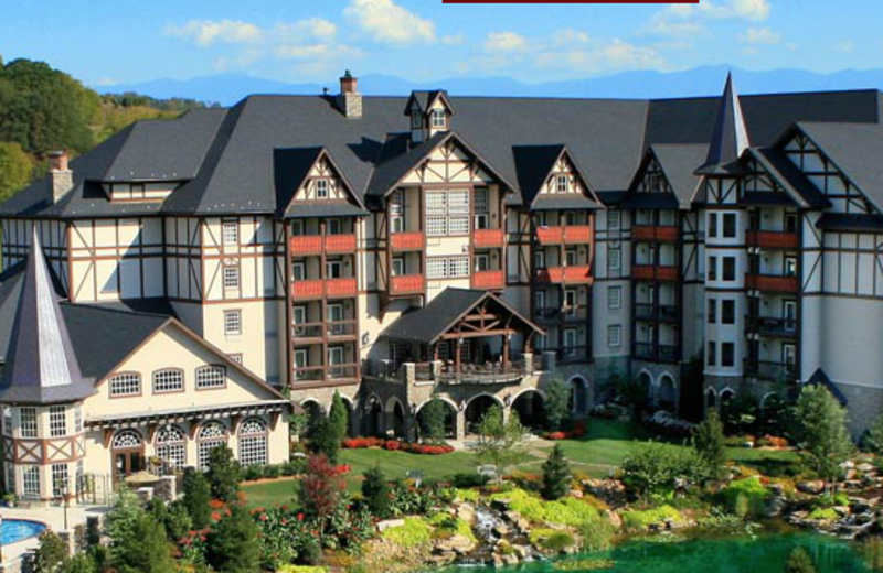 Exterior View of The Inn at Christmas Place