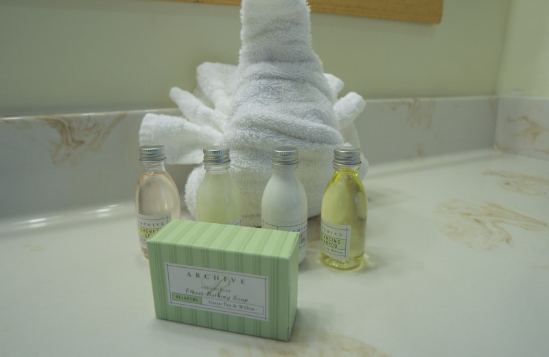 Soaps at Lighthouse Resort Inn & Suites.