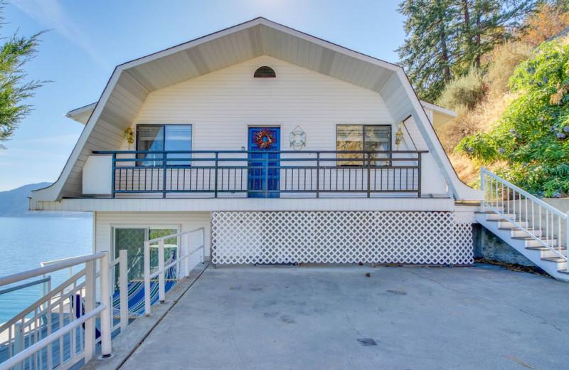 Rental exterior at Chelan Quality Vacation Properties.