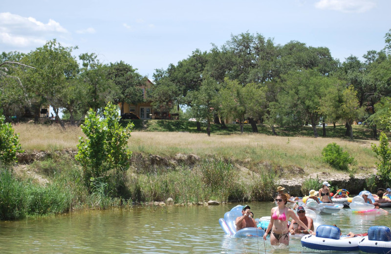 Exterior view of Criders Frio River Resort.
