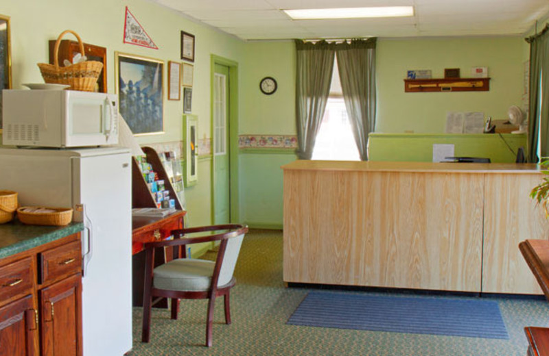 Front Desk at Red Carpet Inn & Suites Cooperstown