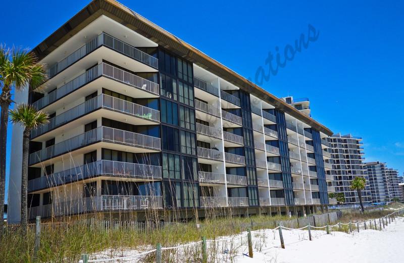 Rental exterior view of Resort Destinations.