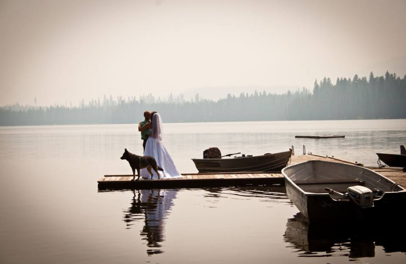 Weddings at North Shore Lodge & Resort.