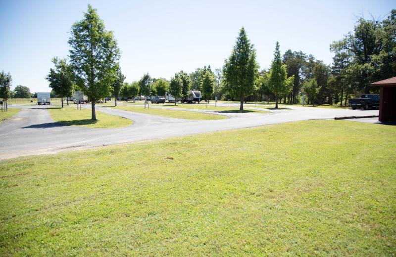 Camp at Long Lake Resort.