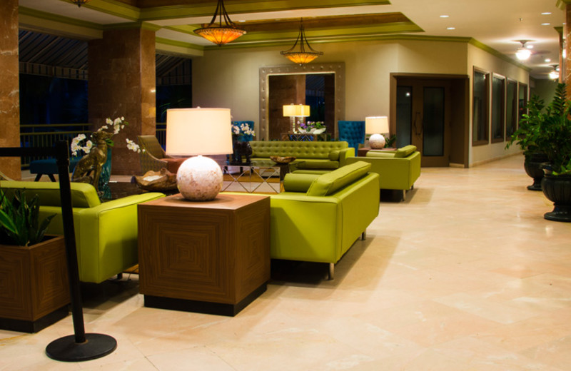 Lobby at Rincon of the Seas Grand Caribbean Hotel.
