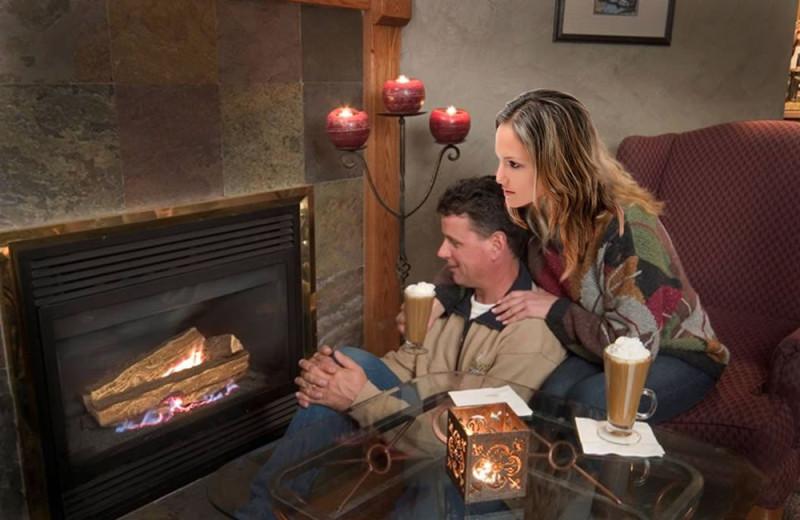 Couple at Stone Gate Inn.