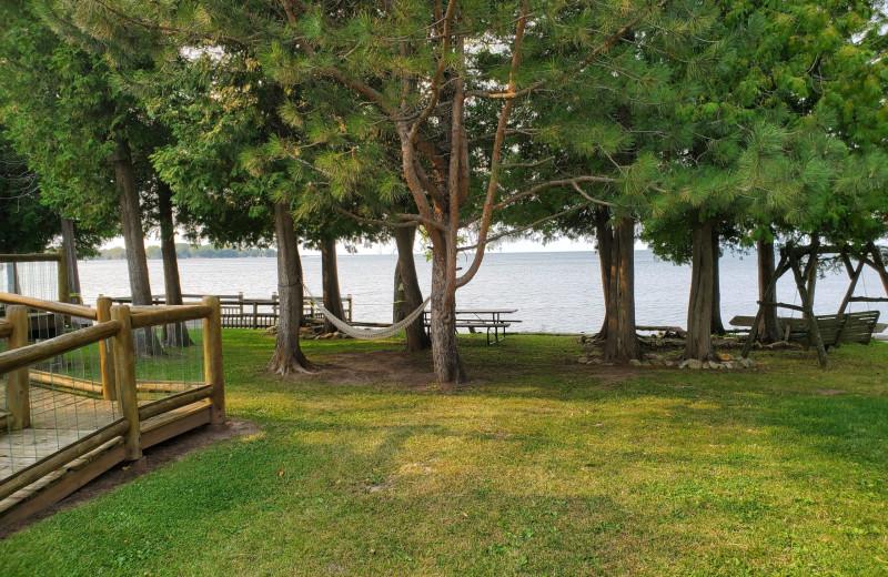View at Sand Bay Lodge