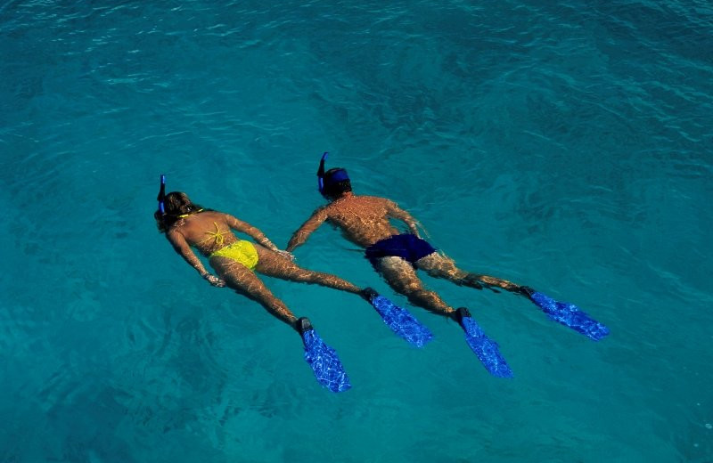 Snorkeling excursions at Oceano Beach Resort.