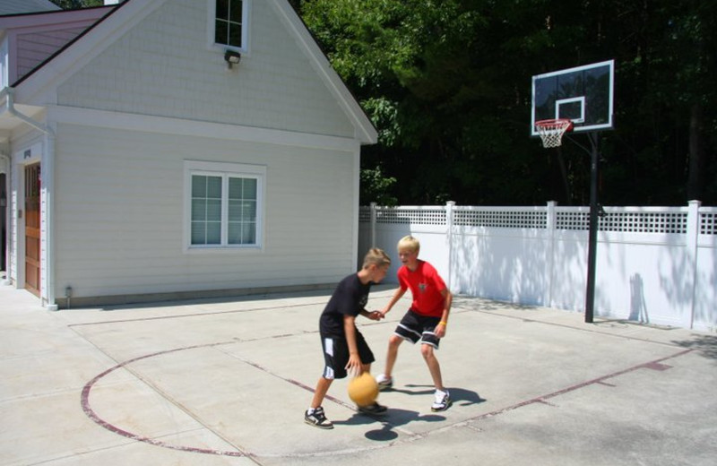 Basketball court at The Beach House.