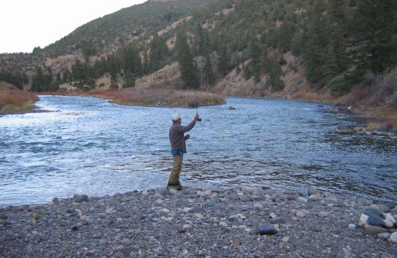 Fishing at Rancho Del Rio.