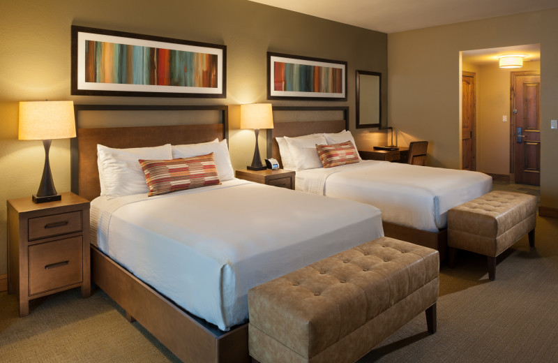 Guest bedroom at Grand Summit.