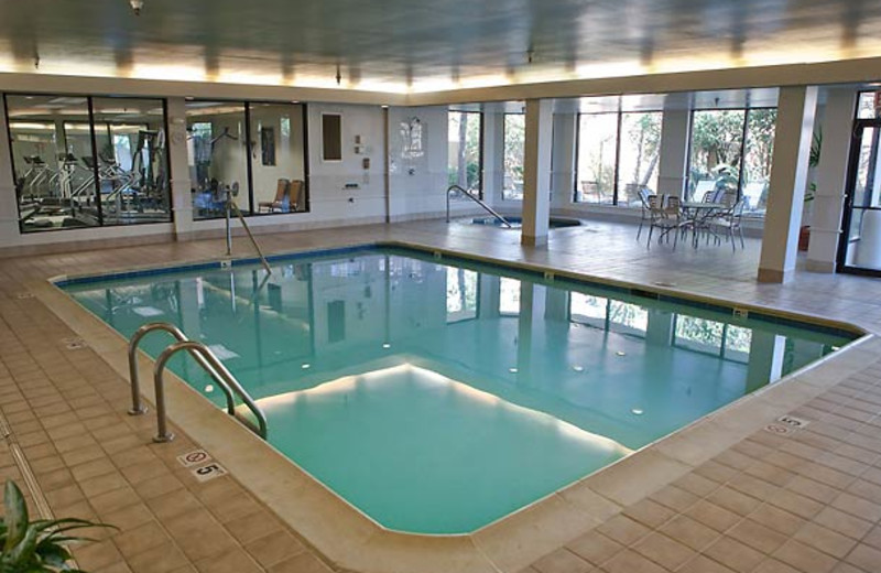 Indoor Pool at the Courtyard Beaumont