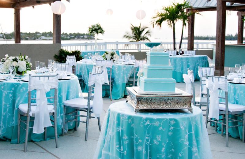 Wedding reception at The Westin Key West Resort.