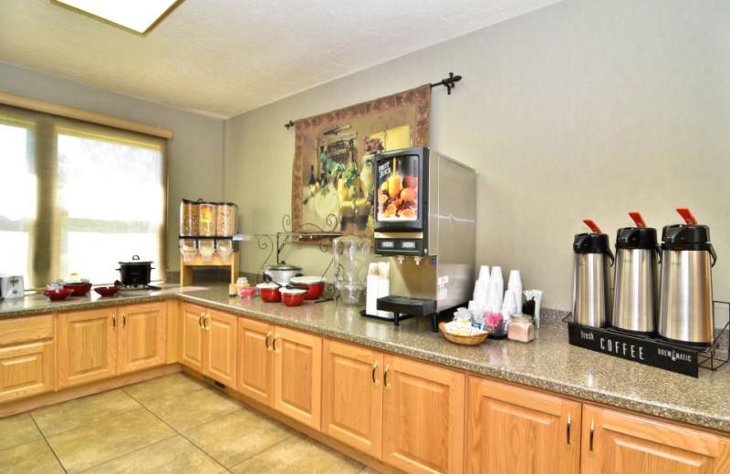 Enjoy treats and coffee at Abbey Inn
