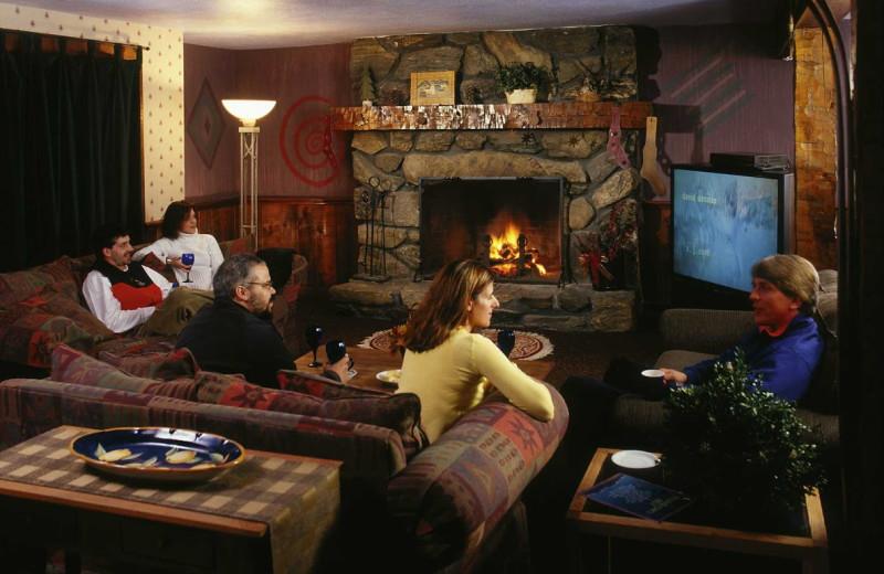 Lounge at The Mountain Inn.