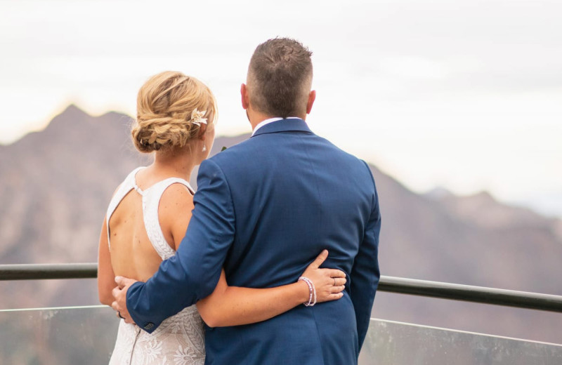 Weddings at Canyon Services Vacation Rentals.