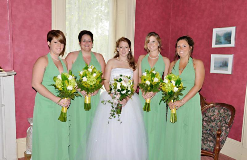 Wedding at Batcheller Mansion Inn Bed and Breakfast.